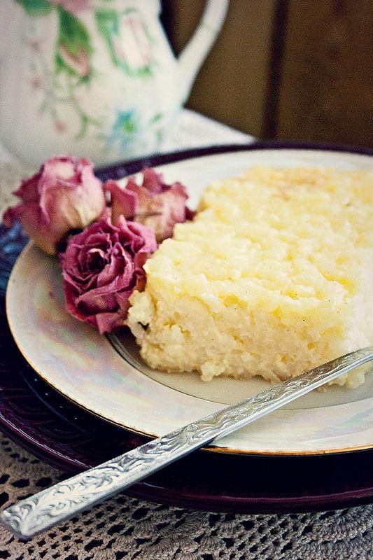 Rýžový nákyp s karamelem