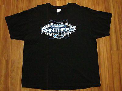 vintage carolina panters majestics mens t-shirt vtg 90's size xxl