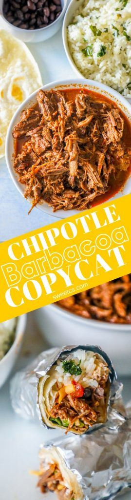 "Tender, juicy and delicious Instant Pot Chipotle Barbacoa Copycat – which can also be made in a slow cooker or dutch oven – tastes just like your favorite burrito shop!    My high school was across the street from one of the first Chipotles – growing up in suburban Denver, Chipotle was just always THE place … Continue reading ""Instant Pot Chipotle Barbacoa Copycat"""