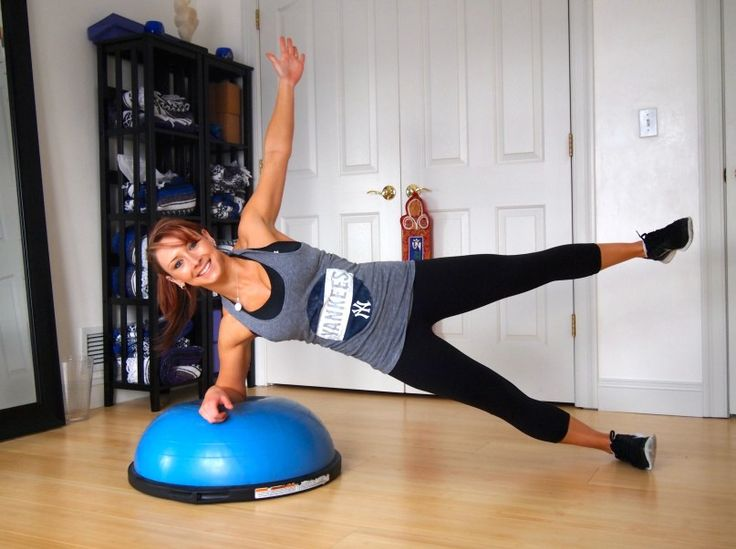 Bosu Core Workout