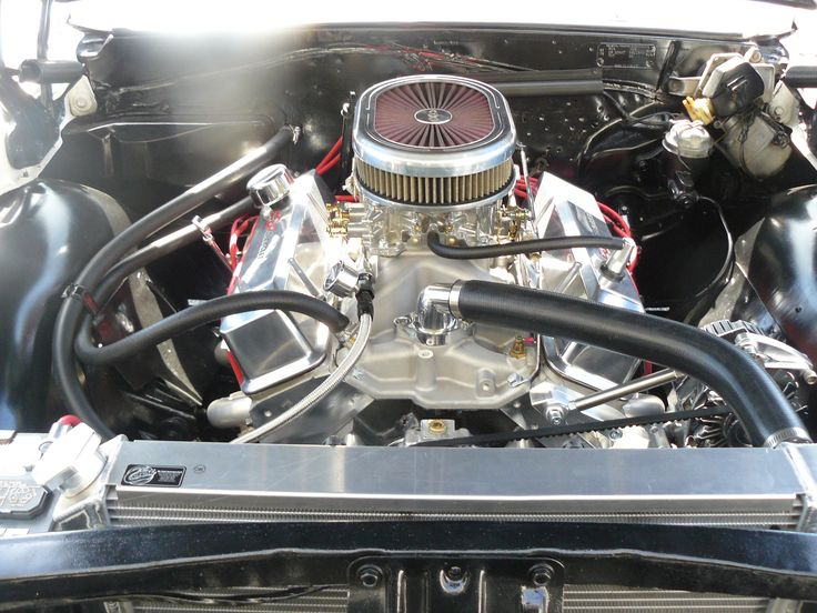 60 best corvette engine and engine parts images on pinterest 383ci stroker crate engine small block gm style dressed longblock with carburetor aluminum heads flat tappet cam malvernweather Image collections