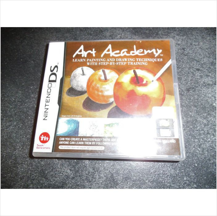 Art academy ds game for nintendo ds dsi dsxl 3ds. Boxed with instructions on eBid United Kingdom