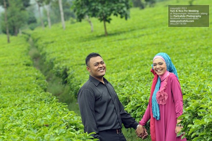 5 Lokasi Wedding Outdoor Di Jogja: Foto Pre Wedding Outdoor Di Kebun Teh Wonosobo By