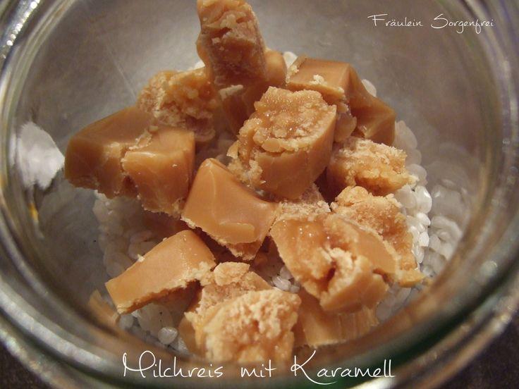 Milchreis mit Karamell
