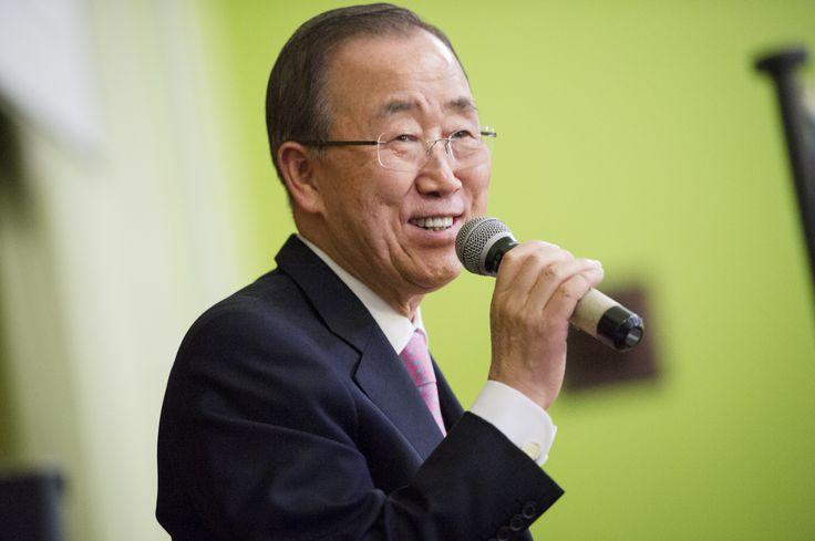 """Nesta terça-feira foi a vez de o secretário-geral das Nações Unidas, Ban Ki-moon, dar seu grito de """"ratifica já!"""" Numa carta enviada a governantes do mundo inteiro, o coreano pediu que os países que assinaram o acordo do clima de Paris ratifiquem-no até 21 de setembro. Ele organizou um evento na sede da ONU em Nova York para essa data, especialmente para impulsionar a ratificação."""