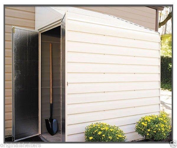 Arrow Shed 4u0027 X 7u0027 Yardsaver /Side Metal Storage Shed   Outdoor Shed