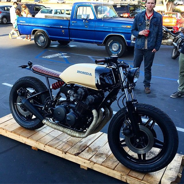 149 + Modified Honda CB 750 Cafe Racer https://www.mobmasker.com/honda-cb-750-cafe-racer/