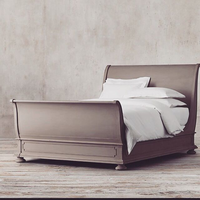 Kingsize Painted Sleigh Bed For Master Bedroom Peyton Pinterest Best Painted Sleigh Beds