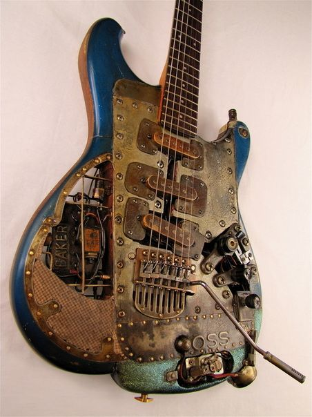 OSScaster electric guitar | Tony Cochran Custom Electric Guitars