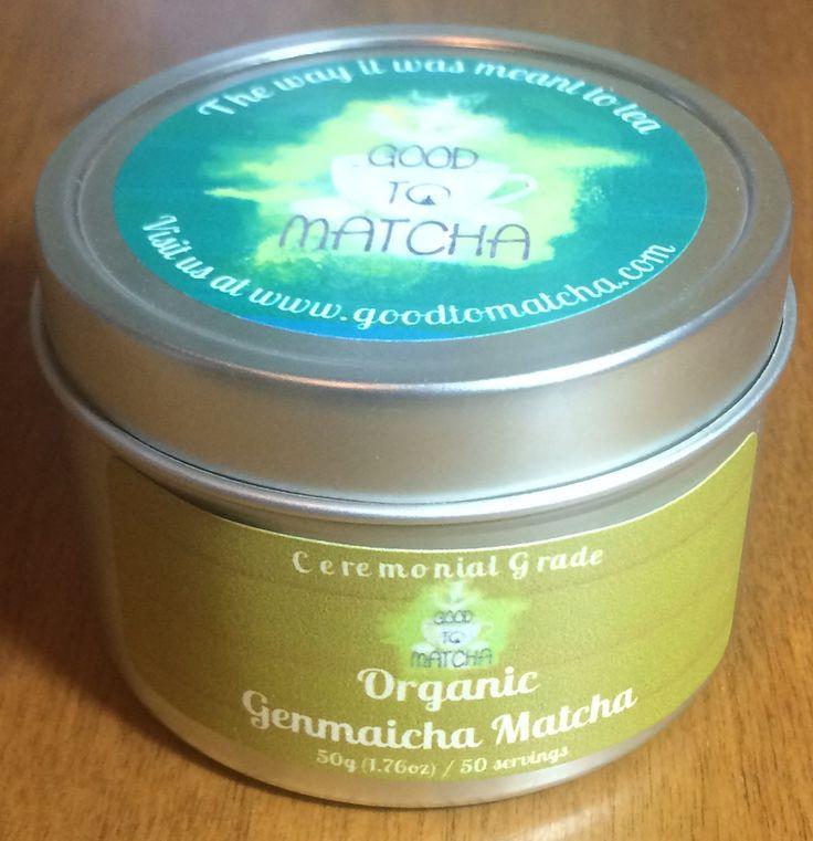 Organic Genmaicha Matcha