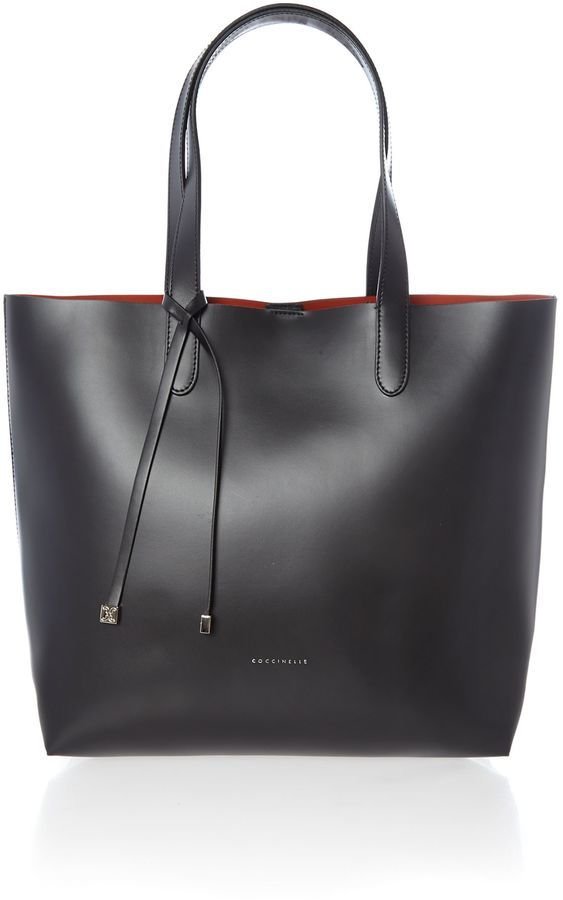 Coccinelle Black north south tote bag on shopstyle.co.uk