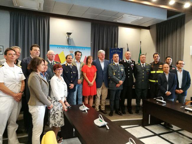 Termoli encomio forze dellOrdine: oggi la cerimonia in Comune