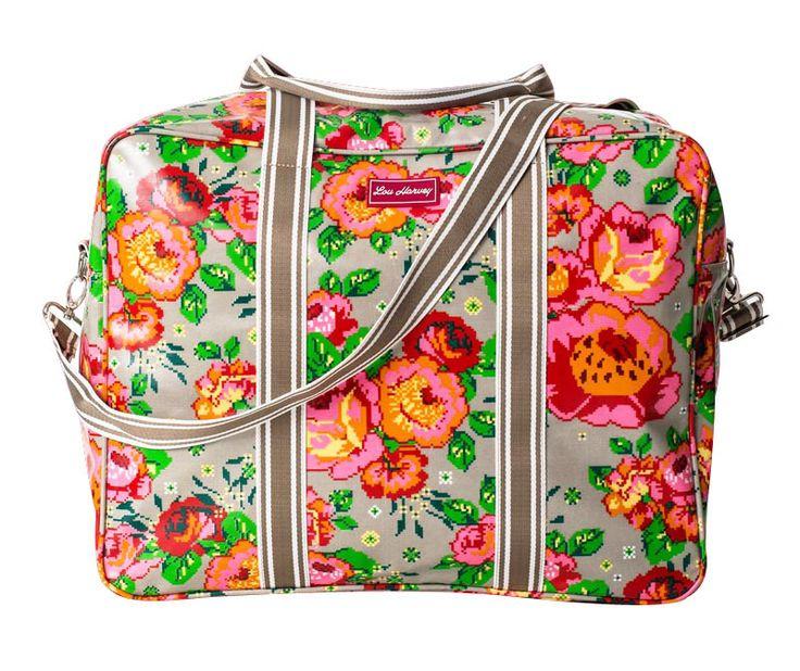 Shop Lou Harvey - Pack Bag : Pixel Flower, R745.00 (http://shoplouharvey.com/pack-bag-pixel-flower/)