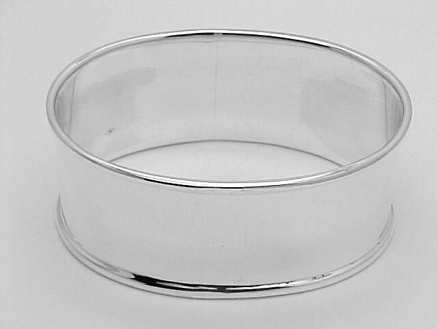 Oval Sterling Silver Napkin Ring $93.50