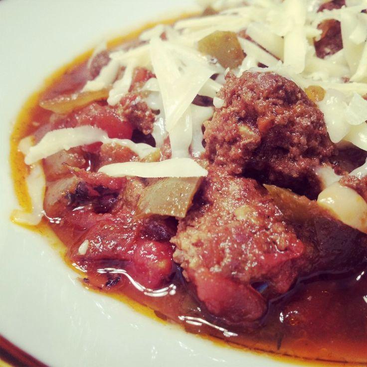 ... Paleo Chili Recipes on Pinterest | Healthy chili, Bacon and Squashes