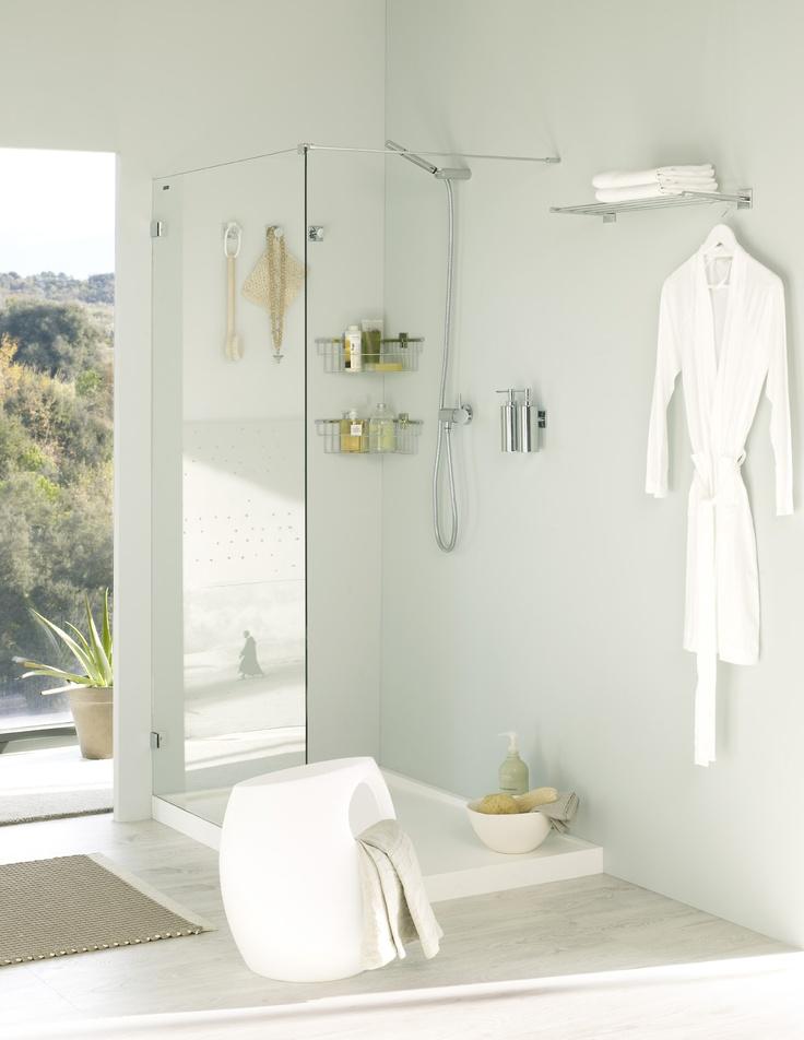 Accesorios de ba o bath for Colgador toalla bano
