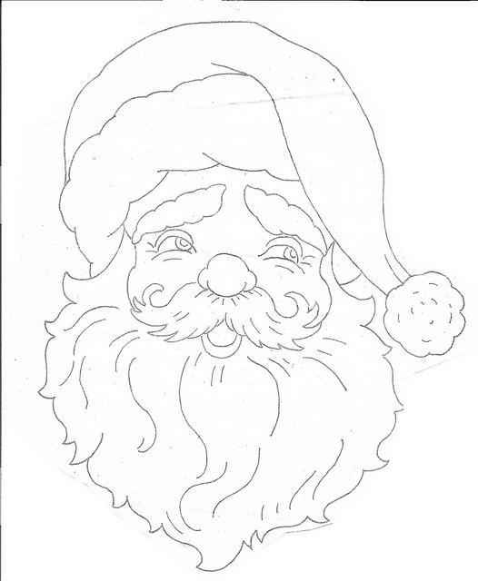 Santa Embroidery: