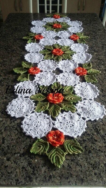 6e359ac9e Folhas de Crochê: 36 Modelos para Inspirar Você | Crochê - Decoração  clássica | Folhas de crochê, Crochê e Crochê para cozinha