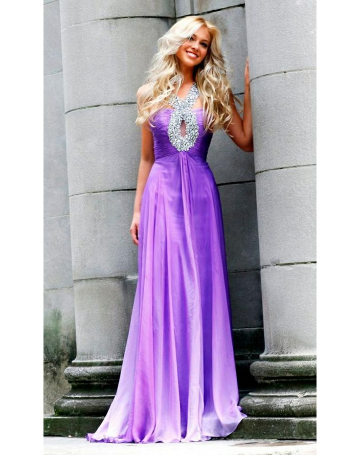 Beading Chiffon A Line Evening Dress Formal Dresses Pinterest