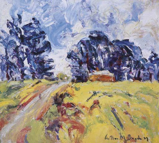 ARTHUR MERRIC BLOOMFIELD BOYD (1920-1999). A country lane. 1939.