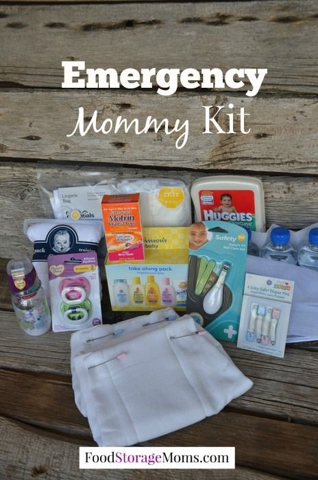 How To Make An Emergency Mommy Kit by Food Storage Moms