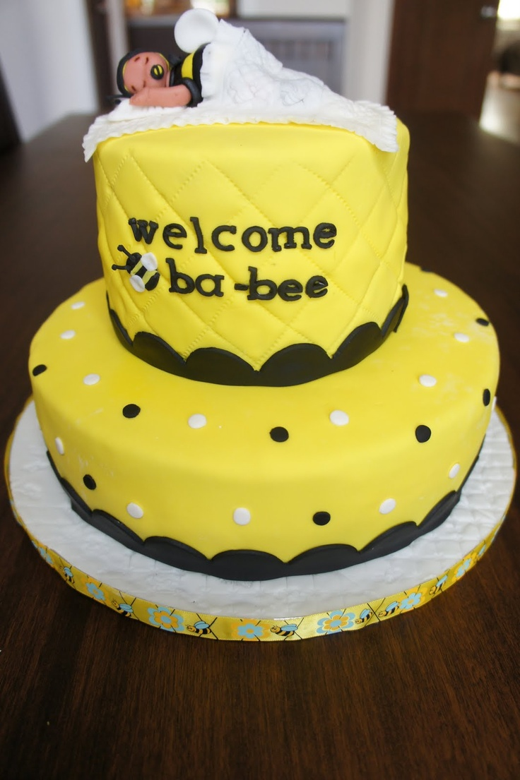 Bee Themed Baby Shower Cakes Images Showers Decoration Ideas 8 Best The Diazs Girl