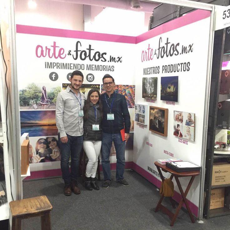 ¡Arte&Fotos.mx te INVITA a que conozcas nuestros productos en la EXPO ESPACIO en el Centro Banamex!