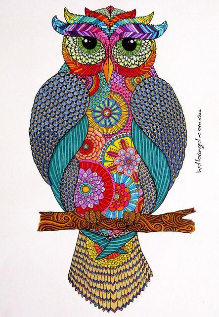 'Mr Owl' by Hello Angel Creative