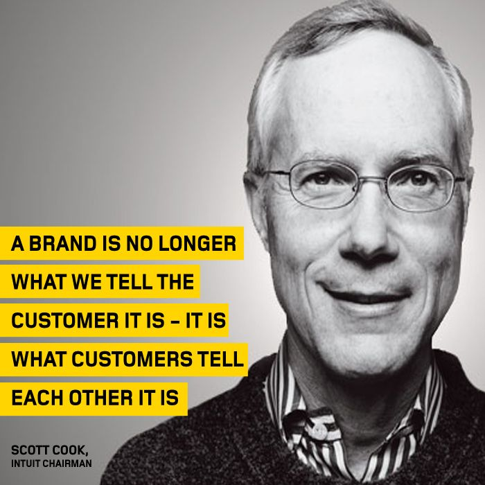 The #ThoughtOfTheWeek for June 15 2015 is from Scott Cook