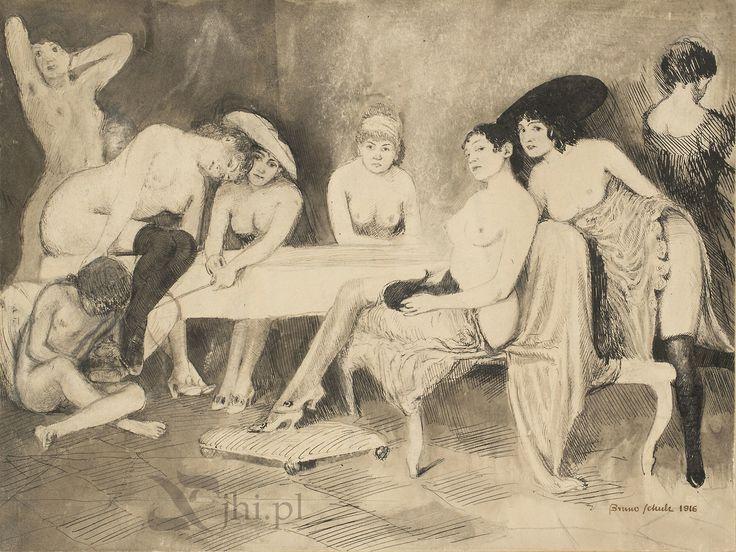 """""""Composition: Wanton Women""""  1916  -  Bruno Schulz"""