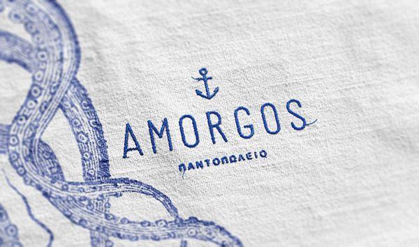 Nouvelle identité pour une épicerie fine grecque.