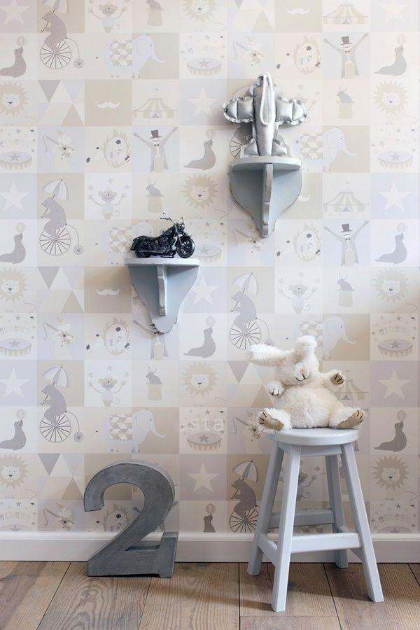 Papeles pintados para habitaciones infantiles kids - Papeles pared infantiles ...