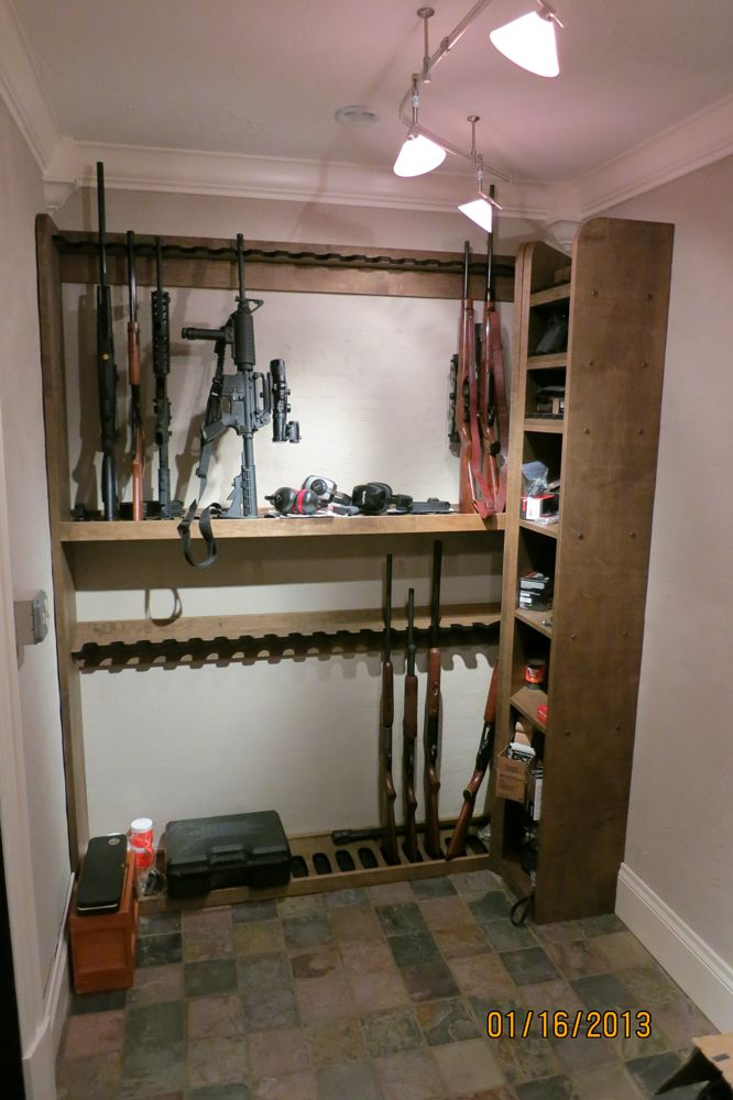 Best 25 gun rooms ideas on pinterest gun safe room gun for Gun safe room ideas