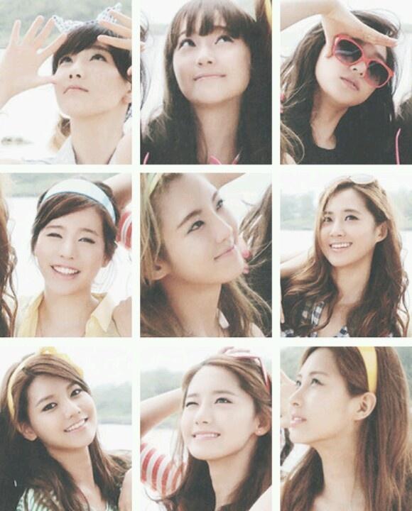 the nine girls of snsd
