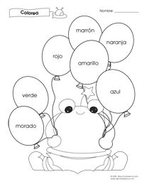 Worksheets Preschool Spanish Worksheets 1000 ideas about spanish worksheets on pinterest in and colors