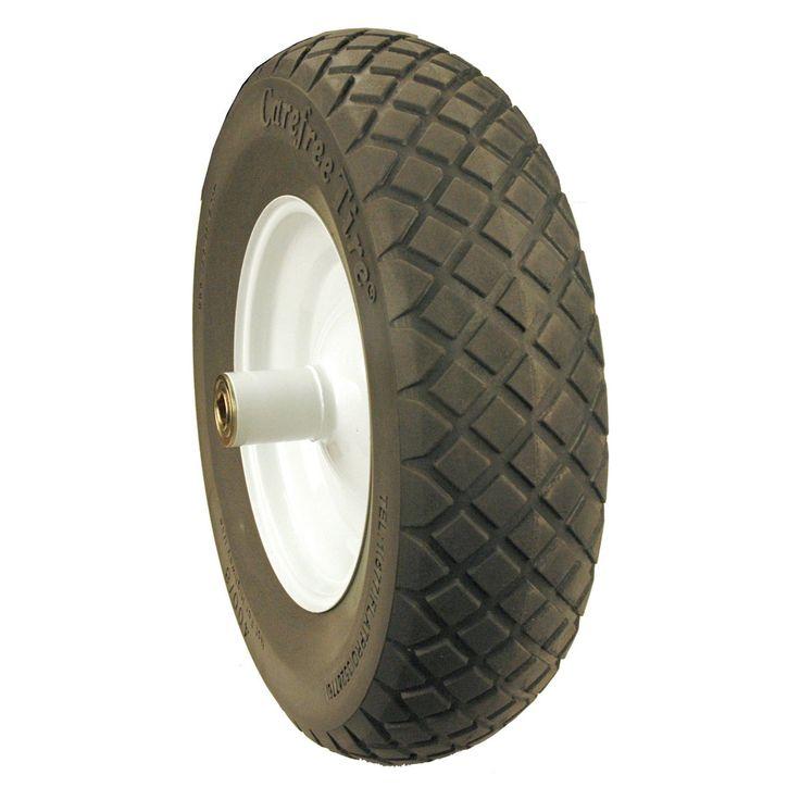 Maxpower Flat Proof Wheelbarrow Wheel