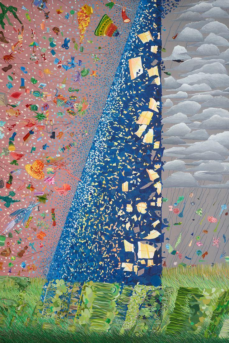 «Башня, которую делает ветер», 1989 год, Катя Крюченкова, 9 лет.