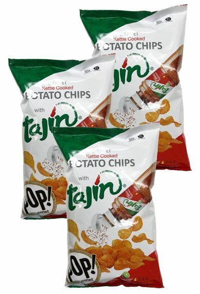 Tajin Kettle Potato Chips with Lime (Pack of 3) $15.95