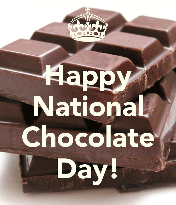 National Chocolate Day - October 28th 2013.