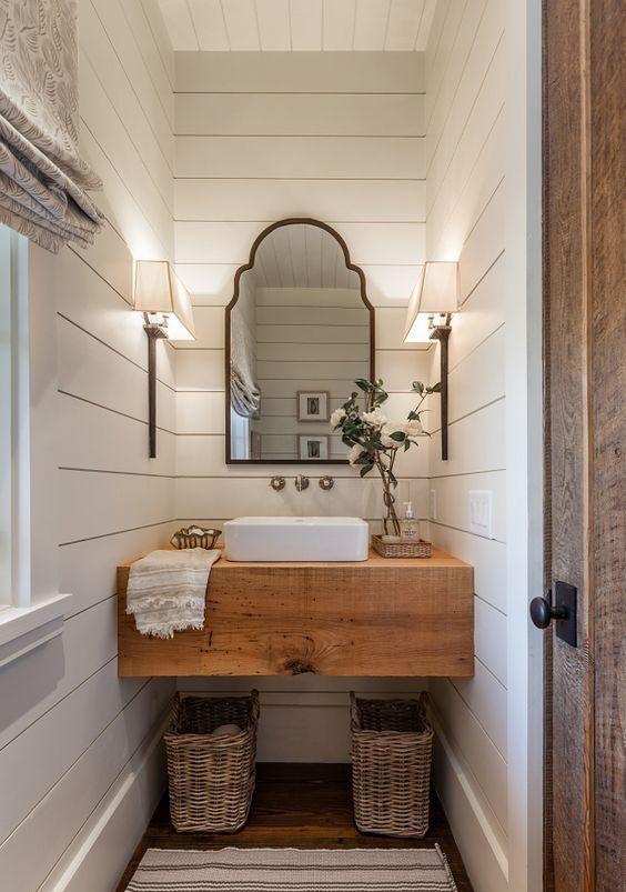 5 Easy Ways To Style A Modern Farmhouse Bathroom Gimme Shelter
