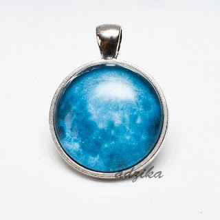 Moon necklace :)  $10