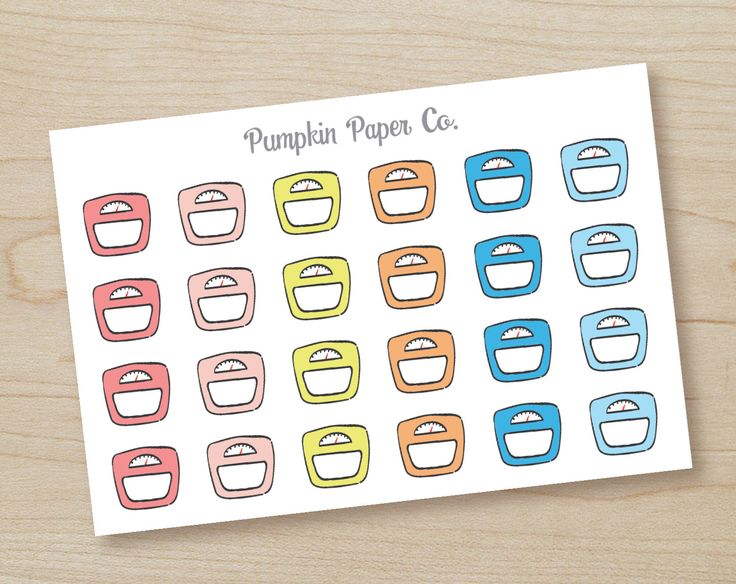 Weight Scale planner stickers, planner stickers, weight loss stickers, reminder stickers, workout stickers, 24 stickers, PPC62 by PumpkinPaperCo on Etsy https://www.etsy.com/au/listing/271241749/weight-scale-planner-stickers-planner