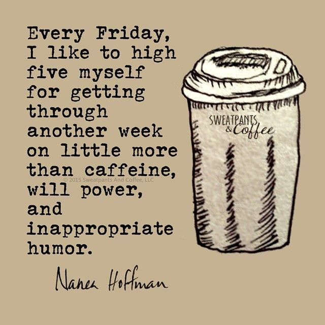 Sweatpants & Coffee on #Friday