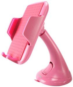 Amazon.com: Cellet Universal Windshield/Dashboard Car Phone Holder for Smartphones - Pink: Cell Phones & Accessories