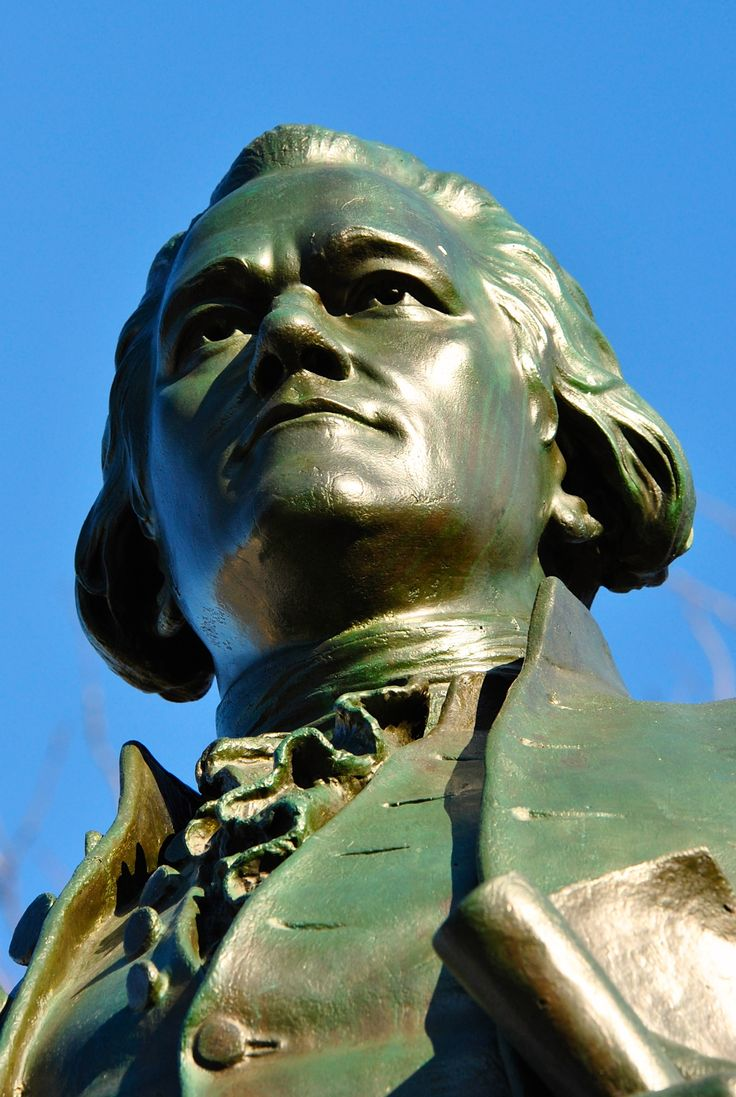 Alexander Hamilton, Great Falls, Paterson, NJ National Historic Landmark