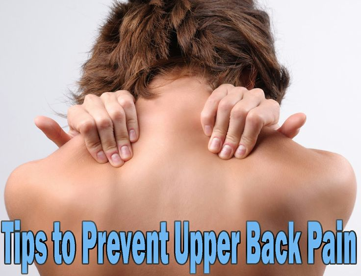 Tips to Prevent Upper Back Pain