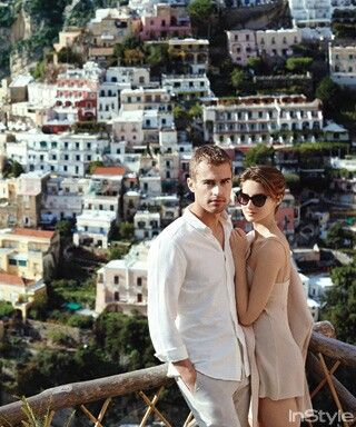 Her Not So Glamorous Summer promo pics: Theo James and Shailene Woodley