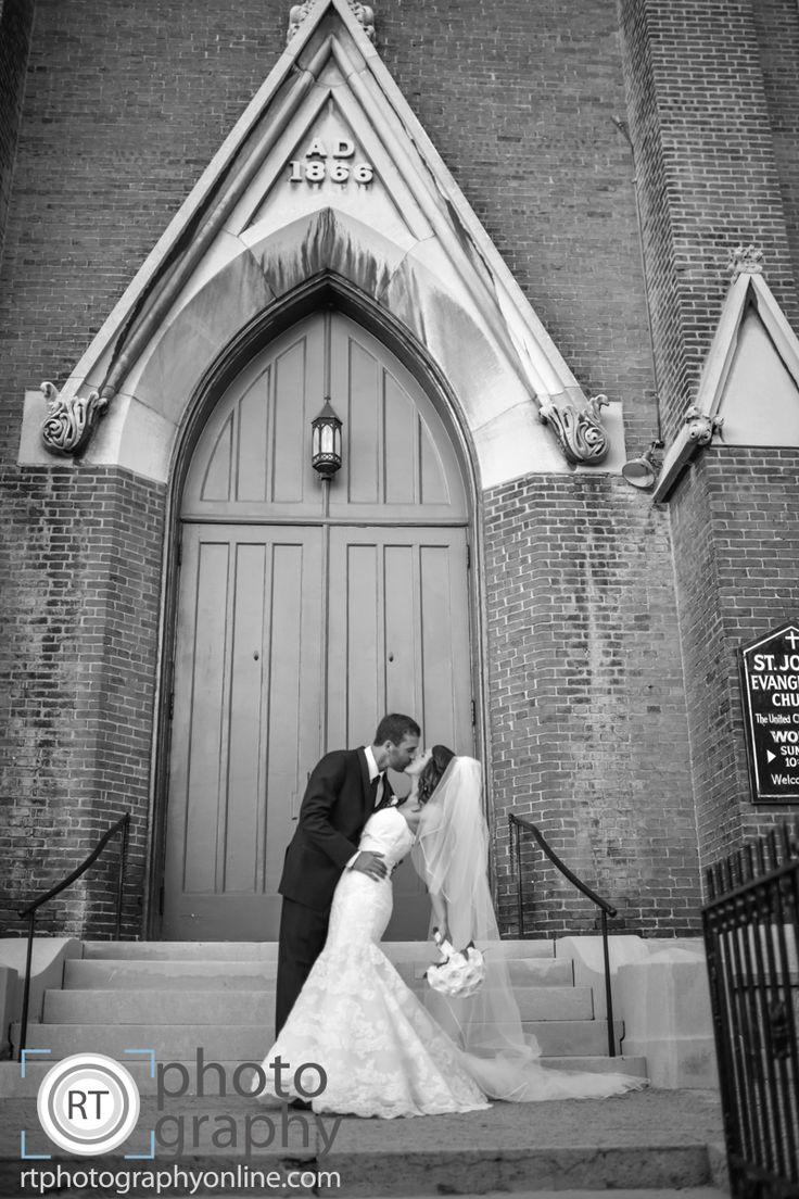 Ashley & Ryan / R. T. Photography / St. John United Church of Christ / 637 East Market Street, Louisville