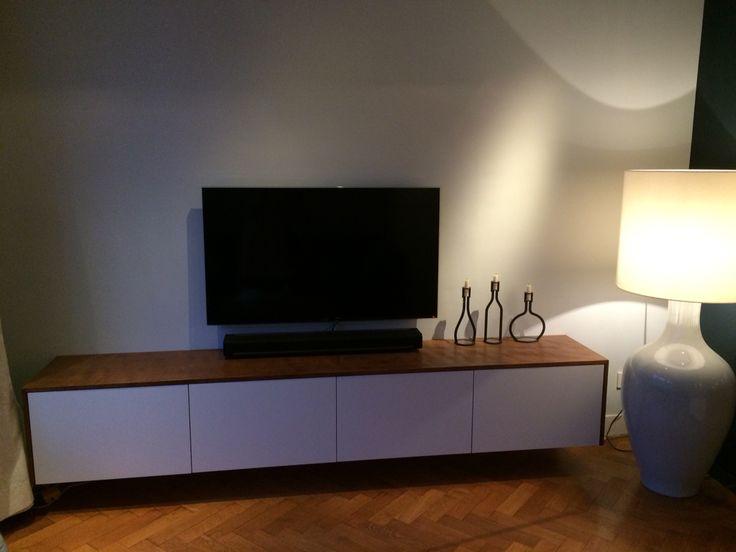 Onze IKEA hack - tv meubel