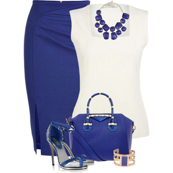 A fashion look from March 2014 featuring Kaliko tops, Blumarine skirts and Lenny sandals. Browse and shop related looks.